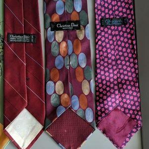 Dior Accessories - BUNDLE 6 TIE